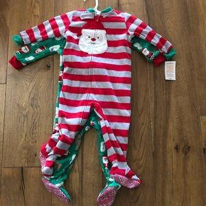 NEW Carters Christmas onsie 18 months (2 total)